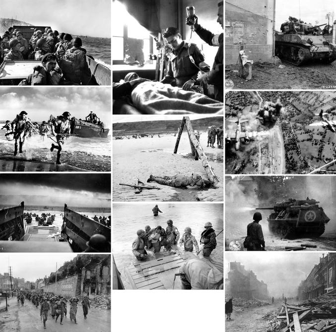 Le compte Flickr PhotosNormandie vient de mettre en ligne plus de 4300 photos du Débarquement de Normandie du 6 juin 1944, cette date déterminante de la Seconde Guerre Mondiale. Cette collection impressionnante est issue d'un projet collaboratif débuté en 2007, qui regroupe des milliers de photos en provenance des Archives Normandie 1939-1945, de la Bibliothèque municipale de la Ville de Cherbourg-Octeville et des archives américaines. Il invite les utilisateurs à compléter, commenter, localiser et identifier les photographies, permettant de documenter au mieux ces archives du Débarquement de Normandie. Toutes les photos sont libres de droits et disponibles sur le compte Flickr PhotosNormandie [ https://www.flickr.com/photos/photosnormandie/ ]