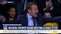 Macron passe en mode super saiyen