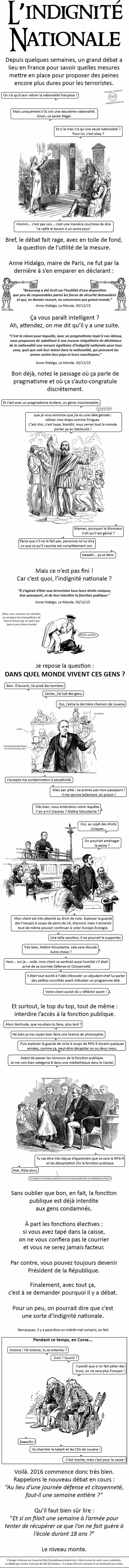 Encore un joli strip de Odieux Connard.