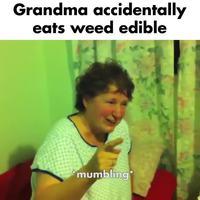 Mamie a mangé des cookies