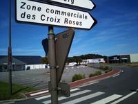Croix roses