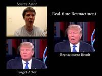 Face2Face, ou le remplacement du visage en temps réel !