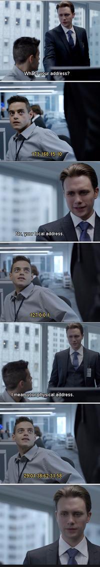 Ne jamais demander son adresse à un informaticien