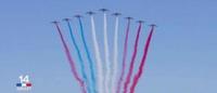 Le nouveau drapeau de la France...