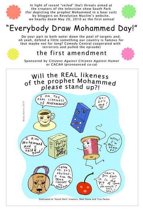 https://fr.wikipedia.org/wiki/Everybody_Draw_Mohammed_Day  C'était le 20 mai, un peu en retard...