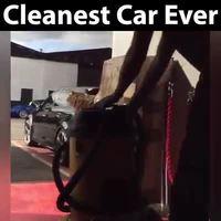 Une voiture propre