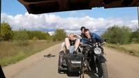 Tour de magie à moto