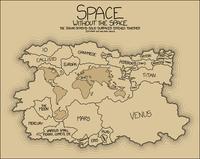 L'espace sans espace...
