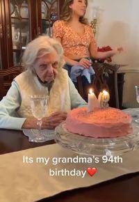 Mamie fête ses 94 ans !