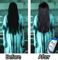 Cheveux propres