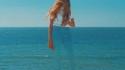 La femme plage