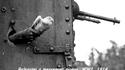Communication entre blindés (la date serait plutôt 1918)