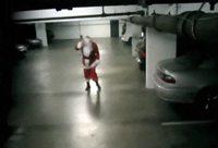 Papa Noël rentre en voiture?