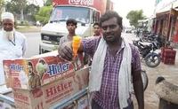 En Inde, des cornets pour glaces...