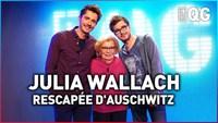 Le QG 22 - Labeeu & Guillaume Pley avec Julia Wallach (rescapée d'Auschwitz)