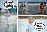 Marine à la plage