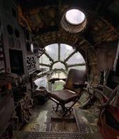 Un avion soviétique abandonné