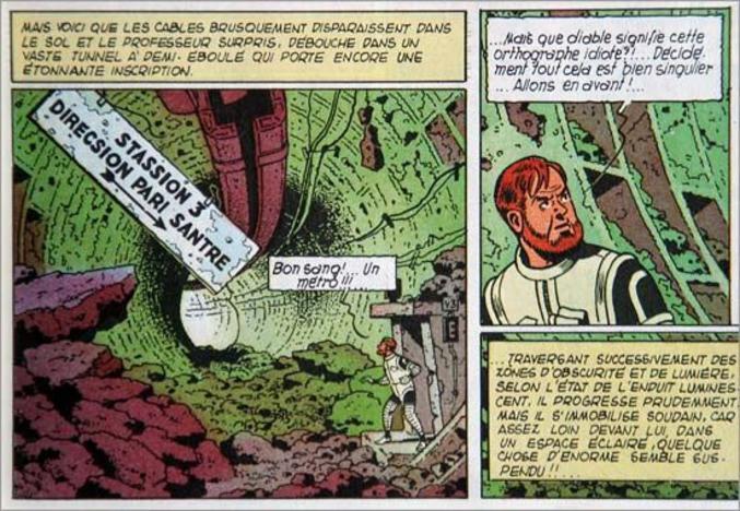 issu de Blake et Mortimer - Le Piège diabolique (1962)