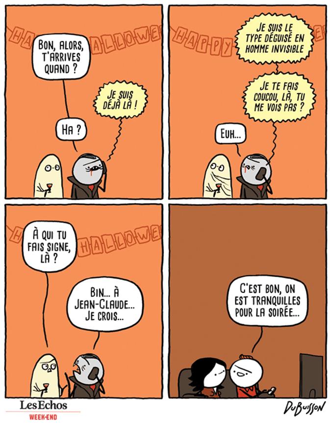 """De Marc Dubuisson sur le blog """"En Attendant la Fin du Monde."""