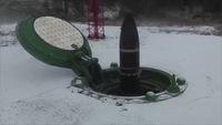 Un lanceur de missile en Russie