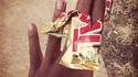 2 doigts au chocolat.