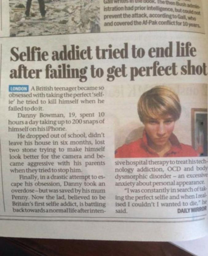 Après avoir raté sa photo, il rate son suicide ... pas doué