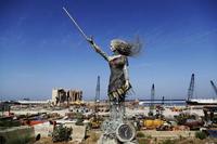 Nouvelle statue à Beyrouth