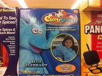 """Couverture """"Blue elephant"""""""