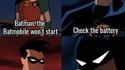 La Batmobile ne démarre pas