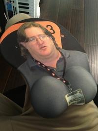 Tapis de souris Gabe Newell