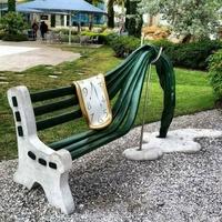 Dali inspire le mobilier urbain