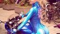 Samus en moto