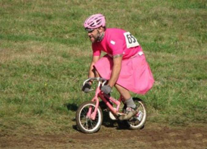 Que des pédales dans le vélo !
