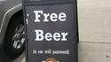 Bière gratuite