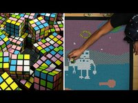 Animation au Rubik's cube
