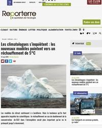 Les climatologues s'inquiètent : les nouveaux modèles pointent vers un réchauffement de 5°C