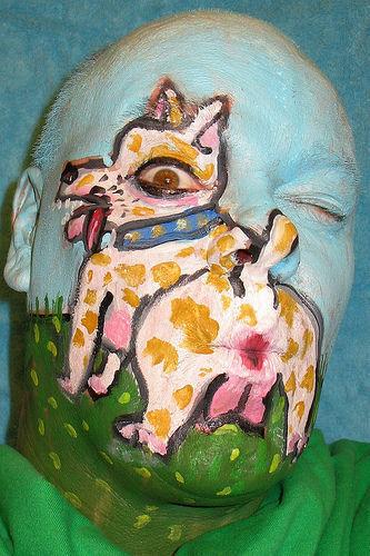 Peinture sur visage - Peinture sur visage ...
