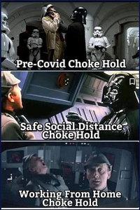 Darth Vader et le Covid