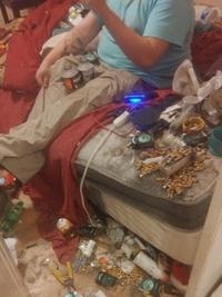 Triskel a rangé un peu sa chambre
