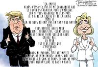 Discours Trump vs Clinton