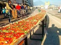 Long pizza is long...