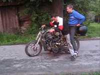 Prépa de cyclomoteur