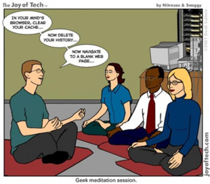 La relaxation pour les geeks.