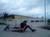 Petit saut à vélo