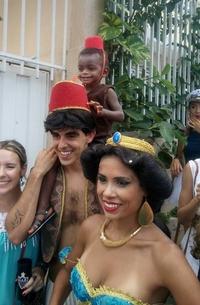 Cosplay Aladdin
