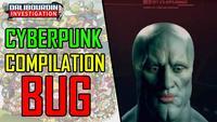 Bug et glitches du nouveau jeu cyberpunk 2077