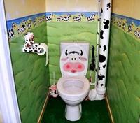 Décoration en vaches