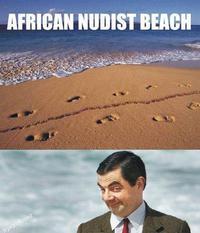 Plage africaine