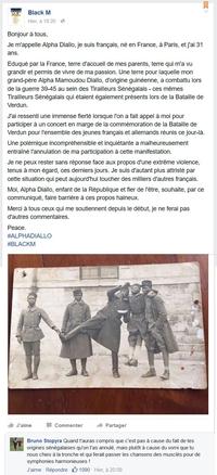 Concert de Black M à Verdun