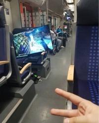 Pour pas s'ennuyer dans le train